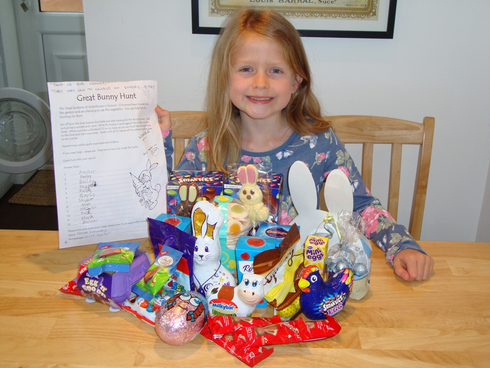 Grace easter winner