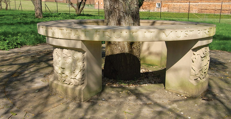 Teucer Wilson Circular Stone Seat