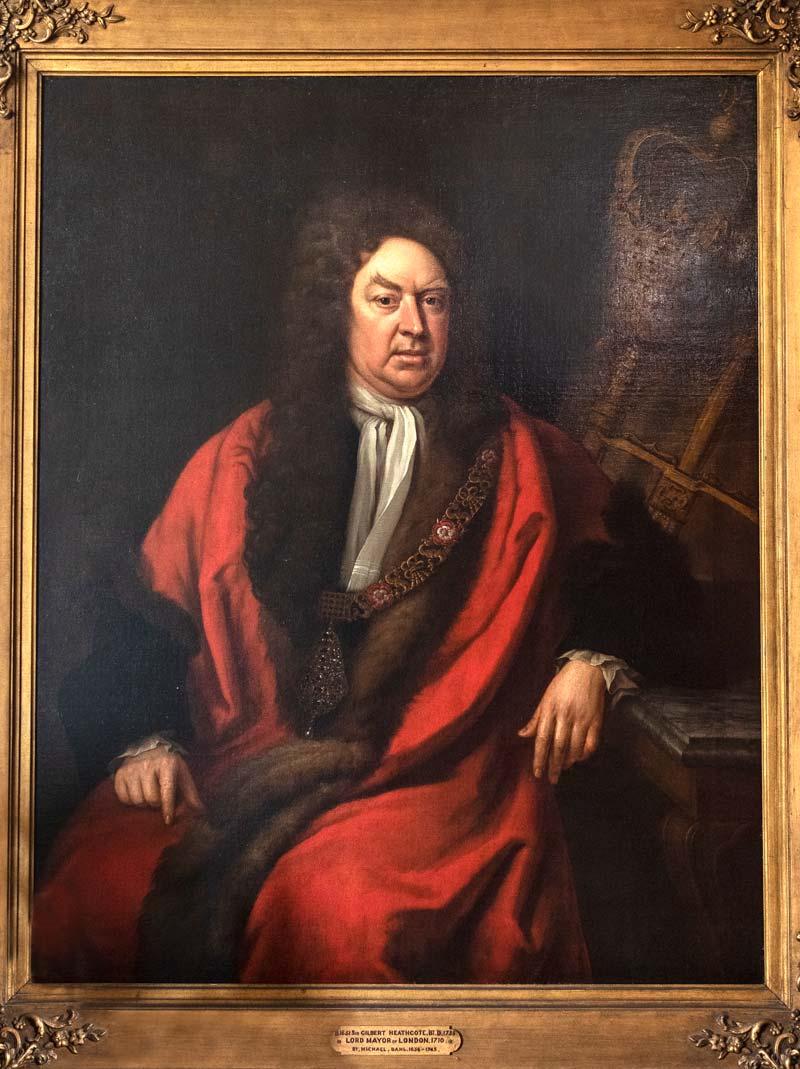Sir Gilbert Heathcote,1st Baronet (1651-1682), by Michael Dahl
